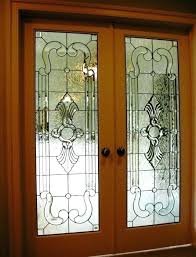 interior stained glass french doors best french doors images on stained glass windows a pair of interior stained glass french doors