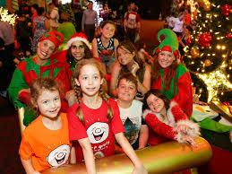 Christmas Photo Kids Sydney Santa Spectacular