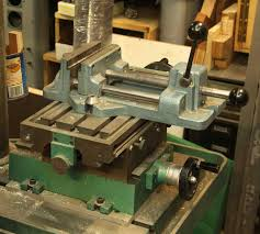 thread suggestions for a small drill press x y table