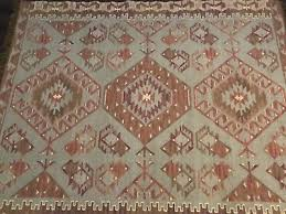 pottery barn warm damen synthetic kilim indoor outdoor 8x10 rug authentic