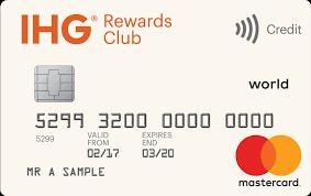 ihg rewards club credit cards