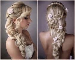 Geflochtene Brautfrisuren Für Langes Haar