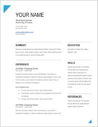 Free Executive Resume Templates For Word Templates 1 Resume Examples