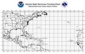 Atlantic Basin Hurricane Tracking Chart Bviddm