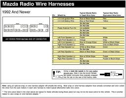 626 stereo wiring diagram page 2 audio & electronics 1990 mazda miata radio wiring diagram at 1993 Mazda Miata Radio Wiring Diagram