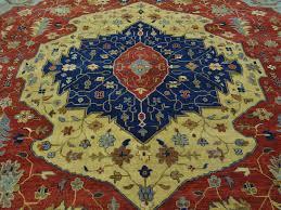 carpet 15 x 15. 12-x-15-antiqued-serapi-heriz-handmade-pure- carpet 15 x