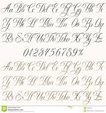 Font Numeri Corsivo Cerca Con Google Anime каллиграфия шрифты