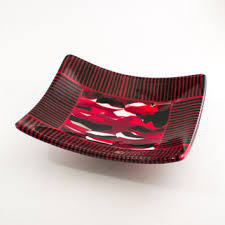 Decorative Red Glass Bowls Best Red Art Glass Bowls Products on Wanelo 15
