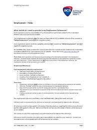 7 Employment Faqs Docsharetips