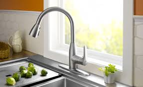 Delta Chrome Kitchen Faucets Kitchen Black Kitchen Faucets Pull Out Spray With Delta Faucet