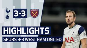 Get all the breaking west ham news. Highlights Spurs 3 3 West Ham United Youtube