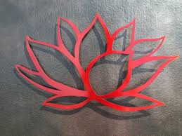 lotus flower metal wall art red lotus metal art by inspiremetals on metal lotus flower wall art with lotus flower metal wall art red lotus metal art by inspiremetals