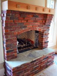 red brick fireplace ideas home builders furniture refinishing