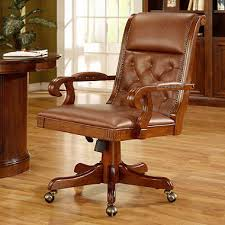 brookhaven leather office chair brown leather office chair