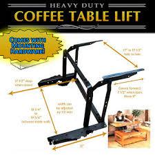 lift top coffee table diy mechanism