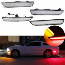 2014 Mustang Side Marker Lights For Car Mustang Led Amber Red Full Side Marker Lights For