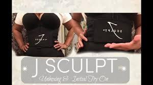 Jsculpt Fitness Size Chart J Sculpt Fitness Belt Unboxing And Try On