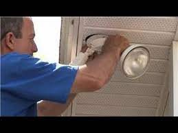 to install exterior security lights