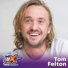 Harry potter star tom felton has recalled the first film was a 'family affair' for him, sharing his grandfather made an appearance in the philosopher's stone. Tom Felton Fanx Salt Lake Comic Convention
