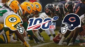 Packers Bears Will Kick Off 2019 Nfl Season