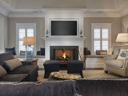 Image result for fireplace mantels with windows on each side and window  seats or doors  Navy Family RoomsFamily ...