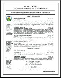 Volunteer Work Resume Examples Volunteer Work On Resume Skinalluremedspa Com