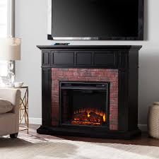 45 50 kyledale faux brick electric media fireplace electric fireplace entertainment center black friday enterprise