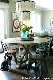 farmhouse dining table set small round farmhouse table love this round farmhouse dining table and industrial farmhouse dining table set