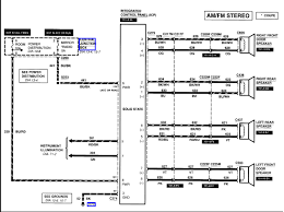 ford f 150 radio wiring diagram ford zx2 radio wiring diagram ford wiring diagrams