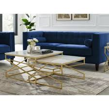 Hand shaped from a single suar wood root, a beautiful drum shaped coffee table. Gold Coffee Tables Accent Tables The Home Depot