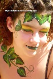 ce beautiful face painting