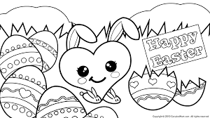 Easter Egg Coloring Pages For Kids At Getdrawingscom Free For