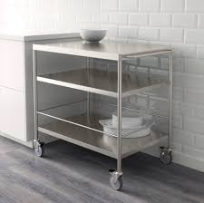 FLYTTA Roltafel, roestvrij staal. Ikea Kitchen CartKitchen ...
