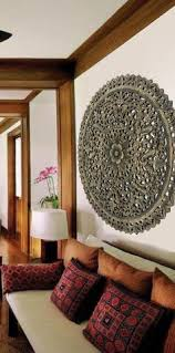 elegant medallion wood carved wall plaque floral bali rustic home decor wall art asian  on bali wood carving wall art with elegant wood carved wall plaque floral wood wall panels asiana