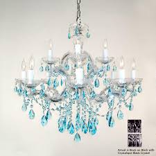 classic lighting 12 light rialto traditional black crystal chandelier