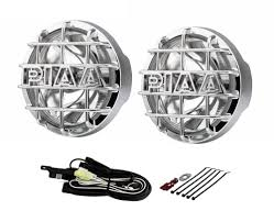 Piaa 520 Fog Lights Piaa 5264 520 Smr Series Clear Driving Light Kit In Chrome