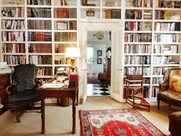 Wall Units, Built In Wall Bookshelves Built In Bookshelves With Desk Home  Office Library Combination ...
