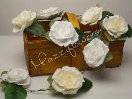 Paper Flower Garland Wedding Flower Bridal Flower Paper Flowers Paper Flower