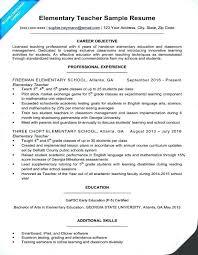Teacher Resume Objective Objectives For Teaching Resume Teacher Job