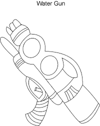 Nerf Gun Coloring Pages Coloring Home