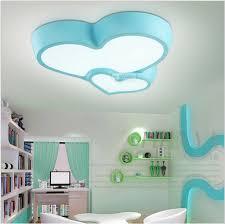 childrens bedroom lighting. Modern Children\u0027s Bedroom Ceiling Lamps LED Blue Pink Romantic Is Suitable For Voltage Childrens Lighting