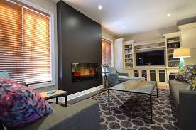 how to convert a gas fireplace with electric family room after