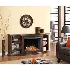 image of tv stand fireplace combo
