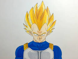 Dragon Ball Z Drawing Vegeta At Getdrawings Com Free For Personal
