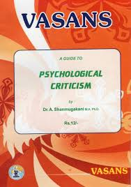 Psychological Criticism Psychological Criticism Vasans Book Stall
