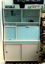 1950s Kitchen Furniture 50s Hygena Kitchen Larder Cabinet Unit Kitchenette Vintage Retro