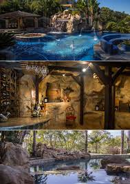 inground pools with rock waterfalls. SWIMMING POOLS \u0026 SPA Inground Pools With Rock Waterfalls S