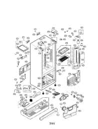lg refrigerator parts diagram. case parts for lg refrigerator lfx25974st / from appliancepartspros.com lg diagram