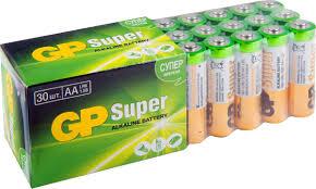 "<b>Набор алкалиновых батареек</b> ""GP <b>Batteries</b>"", тип АА, 30 шт ..."