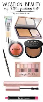 genius makeup tips for travelers vacation beauty my ulta ng list going on